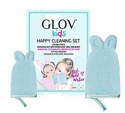 Parfüm, Parfüméria, kozmetikum Szett - Glov Kids Happy Cleaning Set Blue (big/glove/1pcs + small/glove/1pcs)
