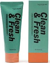 Parfüm, Parfüméria, kozmetikum Arctisztító póruscsökkentő hab - Eunyul Clean & Fresh Pore Tightening Foam Cleanser