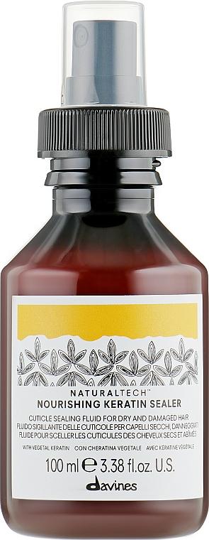 Tápláló keratin fluid - Davines Natural Tech Nourishing Keratin Booster