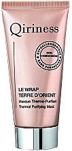 Parfüm, Parfüméria, kozmetikum Melegedő ásványi arcmaszk - Qiriness Thermal Purifying Mask