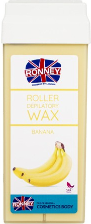 Szőrtelenítő gyantapatron - Ronney Wax Cartridge Banana