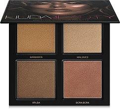 Parfüm, Parfüméria, kozmetikum Highlighter paletta - Huda Beauty 3D Highlighter Palette