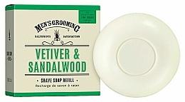 """Parfüm, Parfüméria, kozmetikum Borotva szappan """"Vetiver és szantál"""" - Scottish Fine Soaps Vetiver & Sandalwood Shaving Soap Refill"""