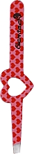 Parfüm, Parfüméria, kozmetikum Szemöldökcsipesz, rózsaszín, piros szívekkel - Glamtech Valentines Tweezer