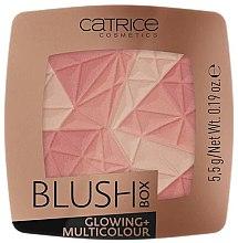 Parfüm, Parfüméria, kozmetikum Arcpirosító - Catrice Blush Box Glowing + Multicolour