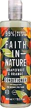 """Parfüm, Parfüméria, kozmetikum Hajkondicionáló normál és zsíros hajra """"Grapefruit és narancs"""" - Faith In Nature Grapefruit & Orange Conditioner"""