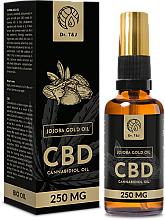 Parfüm, Parfüméria, kozmetikum Természetes jojoba olaj CBD 250mg - Dr. T&J Bio Oil