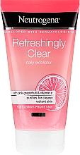 """Parfüm, Parfüméria, kozmetikum Arcradír """"Rózsaszín grapefruit és C vitamin"""" - Neutrogena Refreshingly Clear Daily Exfoliator"""