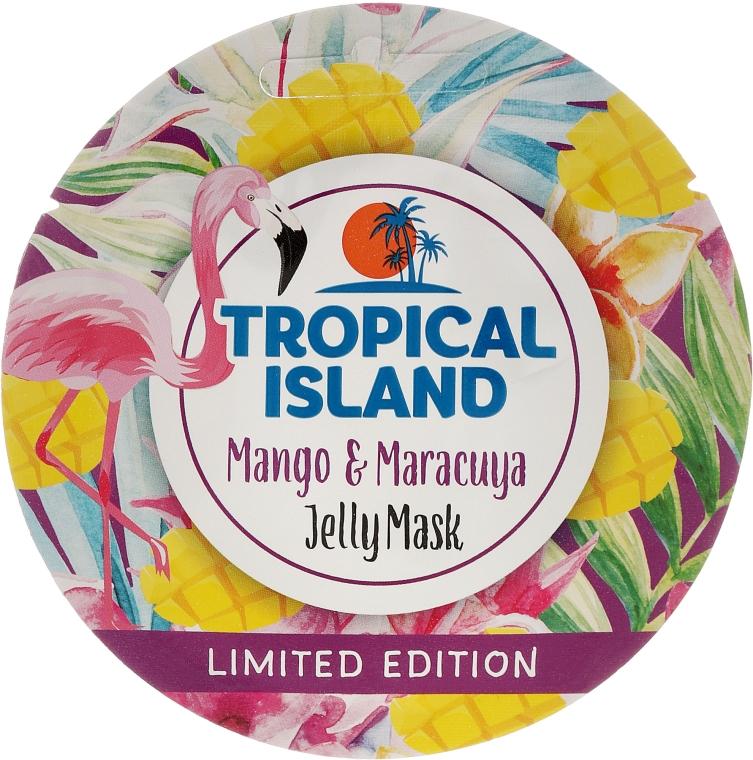 """""""Mangó és Maracuja"""" arcmaszk - Marion Tropical Island Mango & Maracuya Jelly Mask"""