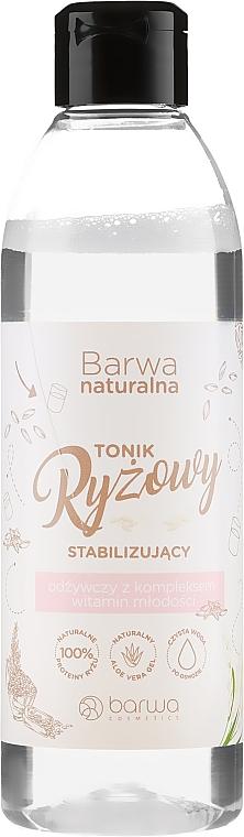 Stabilizáló és tápláló rizs tonik arcra - Barwa Natural
