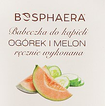 """Parfüm, Parfüméria, kozmetikum Fürdőbomba """"Uborka és dinnye"""" - Bosphaera"""