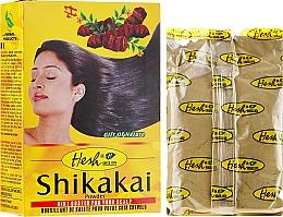Parfüm, Parfüméria, kozmetikum Hajápoló púder 3 az 1-ben, sampon, maszk, kondicionáló - Hesh Shikakai Powder