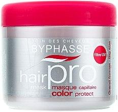 Parfüm, Parfüméria, kozmetikum Hajápoló maszk festett hajra - Byphasse Hair Pro Mask Color Protect