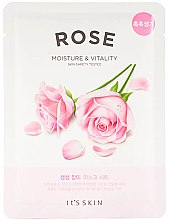 Parfüm, Parfüméria, kozmetikum Szövetmaszk - It's Skin The Fresh Rose Mask Sheet