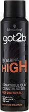 Parfüm, Parfüméria, kozmetikum Hajformázó agyag-spray - Schwarzkopf Got2b Roaring High Sprayable Clay Constructor