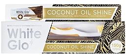 Parfüm, Parfüméria, kozmetikum Szett - White Glo Coconut Oil Shine (toothpaste/120ml + toothbrush)