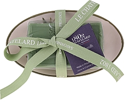 """Parfüm, Parfüméria, kozmetikum Természetes szappan kerámia szappantartóval """"Olíva"""" - Le Chatelard 1802 Olive Soap"""