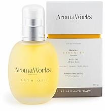 Parfüm, Parfüméria, kozmetikum Fürdő olaj - AromaWorks Serenity Bath Oil