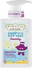 Parfüm, Parfüméria, kozmetikum Baba sampon és tusoló gél 2 az 1-ben - Jack N' Jill Serenity Shampoo & Body Wash