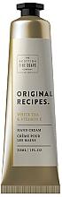 Parfüm, Parfüméria, kozmetikum Kézkrém - Scottish Fine Soaps Original Recipes White Tea & Vitamin E Hand Cream