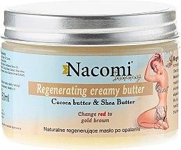 Parfüm, Parfüméria, kozmetikum Regeneráló napozás utáni vaj - Nacomi Sunny Regenerating Creamy Butter