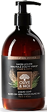 """Parfüm, Parfüméria, kozmetikum Folyékony szappan olívaolajjal """"Vetiver"""" - Saryane Olive & Moi Liquid Soap"""