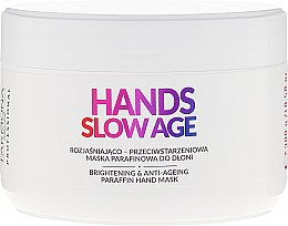 Parfüm, Parfüméria, kozmetikum Paraffin kézápoló maszk - Farmona Hands Slow Age Brightening And Anti-ageing Paraffin Hand Mask