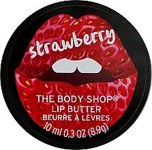 Parfüm, Parfüméria, kozmetikum Ajakvaj - The Body Shop Strawberry Lip Butter
