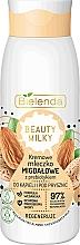 Parfüm, Parfüméria, kozmetikum Tusfürdő és fürdő tej - Bielenda Beauty Milky Regenerating Almond Shower & Bath Milk