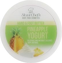 "Parfüm, Parfüméria, kozmetikum Krém kézre és lábra ""Ananász joghurt"" - Hristina Cosmetics Stani Chef's Pineapple Yogurt Hand & Foot Butter"