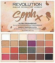 Parfüm, Parfüméria, kozmetikum Szemhéjfesték paletta - Makeup Revolution Soph X Eyeshadow Palette