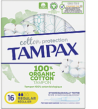 Parfüm, Parfüméria, kozmetikum Tampon applikátorral, 16 db - Tampax Cotton Protection Regular