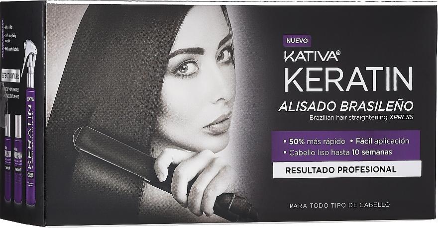 Szett - Kativa Keratin (shm/35ml + cond/35ml + mask/100ml)