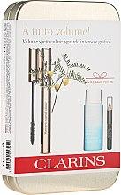 Parfüm, Parfüméria, kozmetikum Szett - Clarins (mascara/8ml + eye/pencil/0.39g + makeup/remover/30ml)