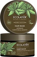"""Parfüm, Parfüméria, kozmetikum Hajmaszk """"Intenzív erő és növekedés"""" - Ecolatier Organic Aloe Vera Hair Mask"""