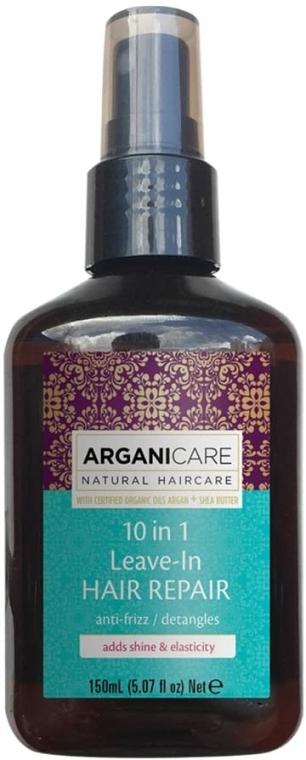 Hajszérum 10 az 1-ben - Arganicare Shea Butter 10 in 1 Leave-In Hair Repair Anti-Frizz
