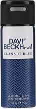 Parfüm, Parfüméria, kozmetikum David Beckham Classic Blue - Deo spray