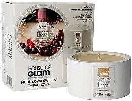 Parfüm, Parfüméria, kozmetikum Illatosított gyertya - House of Glam Sweet Cherry Liquer Candle