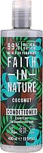 """Parfüm, Parfüméria, kozmetikum Hajkondicionáló normál és száraz hajra """"Kókusz"""" - Faith In Nature Coconut Conditioner"""