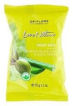 """Parfüm, Parfüméria, kozmetikum Szappan """"Olíva és aloe"""" - Oriflame Love Nature Olive Oil & Aloe Vera Soap Bar"""