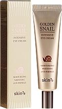 Parfüm, Parfüméria, kozmetikum Szemkörnyékápoló krém csiga mucinnal és arannyal - Skin79 Golden Snail Intensive Eye