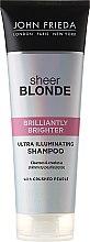 Parfüm, Parfüméria, kozmetikum Sampon szőke hajra - John Frieda Sheer Blonde Brilliantly Brighter Shampoo