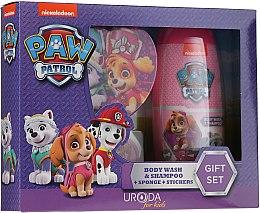 Parfüm, Parfüméria, kozmetikum Készlet - Uroda Paw Patrol Girl (sh/gel/250ml + sponge + stickers)