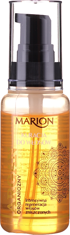 Hajápoló argánolaj - Marion Hair Treatment With Argan Oil