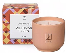 """Parfüm, Parfüméria, kozmetikum Szójagyertya """"Fahéjas zsemle"""" - Mys Cinnamon Rolls Candle"""