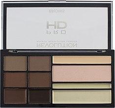 Parfüm, Parfüméria, kozmetikum Szemöldök formázó paletta - Makeup Revolution HD Pro Brows