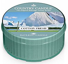 Parfüm, Parfüméria, kozmetikum Tea illatgyertya - Country Candle Cotton Fresh Daylight