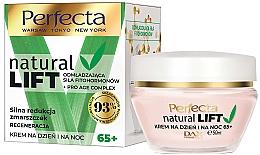 Parfüm, Parfüméria, kozmetikum Ránctalanító arckrém 65+ - Perfecta Natural Lift Regenerating Anti-wrinkle Cream