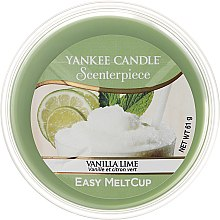 Parfüm, Parfüméria, kozmetikum Elektromos aromalámpa viasz - Yankee Candle Vanilla Lime Melt Cup