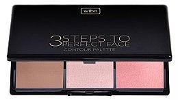 Parfüm, Parfüméria, kozmetikum Kontúrozó paletta arcra - Wibo 3 Steps to Perfect